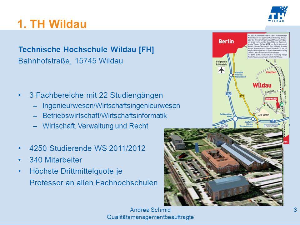 1. TH Wildau Technische Hochschule Wildau [FH]